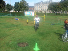 Active Schools cycling family day